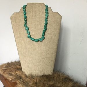 Jewelry - Turquoise  Rock Necklace